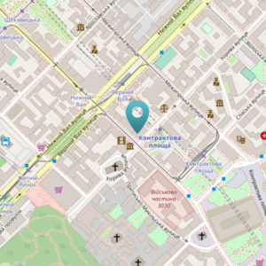 м. Контрактовая площадь ул. Константиновская 2А оф. 403