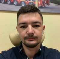Член команды Максим Голубовский
